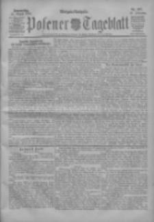 Posener Tageblatt 1904.08.25 Jg.43 Nr397