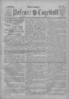 Posener Tageblatt 1904.10.22 Jg.43 Nr497
