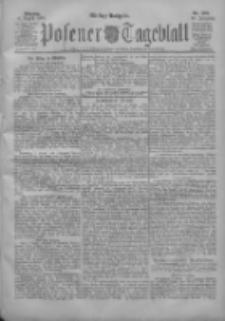 Posener Tageblatt 1904.08.08 Jg.43 Nr368