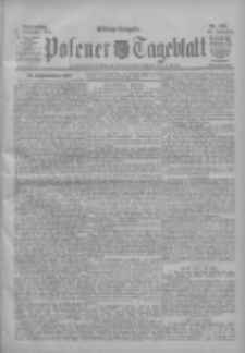 Posener Tageblatt 1904.09.15 Jg.43 Nr434