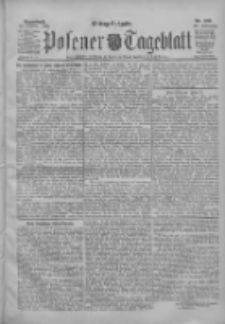 Posener Tageblatt 1904.10.22 Jg.43 Nr498