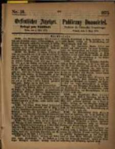 Oeffentlicher Anzeiger. 1875.05.05 Nro.18