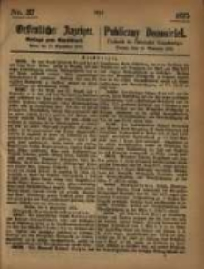Oeffentlicher Anzeiger. 1875.09.15 Nro.37