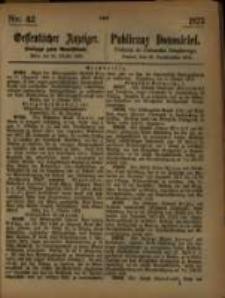 Oeffentlicher Anzeiger. 1875.10.20 Nro.42