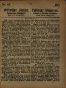 Oeffentlicher Anzeiger. 1875.11.03 Nro.44