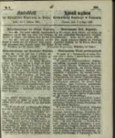 Amtsblatt der Königlichen Regierung zu Posen. 1865.02.07 Nro.6
