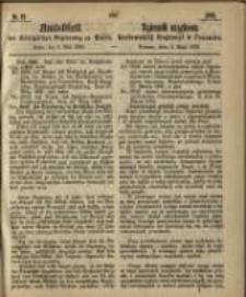 Amtsblatt der Königlichen Regierung zu Posen. 1865.05.09 Nro.19
