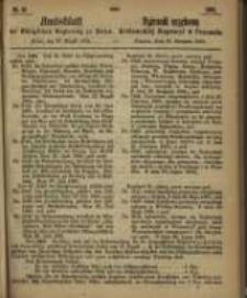 Amtsblatt der Königlichen Regierung zu Posen. 1865.08.29 Nro.35
