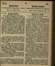Amtsblatt der Königlichen Regierung zu Posen. 1865.10.03 Nro.40