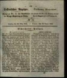 Oeffentlicher Anzeiger. 1842.03.22 Nro.12