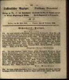 Oeffentlicher Anzeiger. 1842.04.26 Nro.17