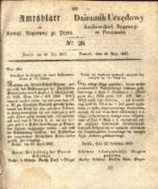 Amtsblatt der Königlichen Regierung zu Posen. 1837.05.16 Nro.20