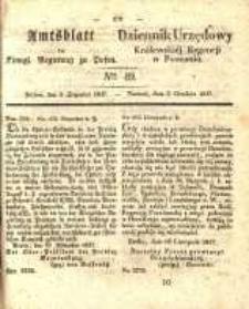 Amtsblatt der Königlichen Regierung zu Posen. 1837.12.05 Nro.49