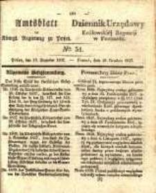 Amtsblatt der Königlichen Regierung zu Posen. 1837.12.19 Nro.51