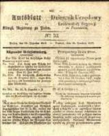 Amtsblatt der Königlichen Regierung zu Posen. 1837.12.26 Nro.52