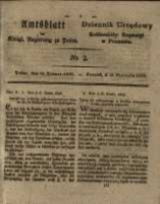 Amtsblatt der Königlichen Regierung zu Posen. 1829.01.10 Nro.2