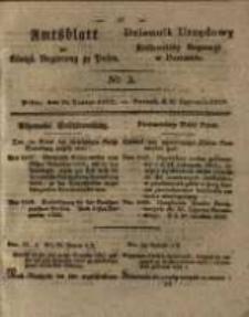 Amtsblatt der Königlichen Regierung zu Posen. 1829.01.20 Nro.3