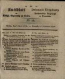 Amtsblatt der Königlichen Regierung zu Posen. 1829.04.07 Nro.14