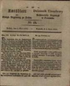 Amtsblatt der Königlichen Regierung zu Posen. 1829.05.05 Nro.18