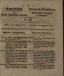 Amtsblatt der Königlichen Regierung zu Posen. 1829.06.02 Nro.22