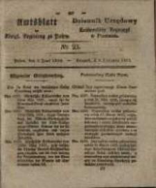 Amtsblatt der Königlichen Regierung zu Posen. 1829.05.09 Nro.23