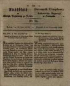 Amtsblatt der Königlichen Regierung zu Posen. 1829.06.16 Nro.24