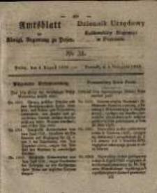 Amtsblatt der Königlichen Regierung zu Posen. 1829.08.04 Nro.31