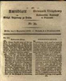 Amtsblatt der Königlichen Regierung zu Posen. 1829.09.08 Nro.36