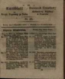 Amtsblatt der Königlichen Regierung zu Posen. 1829.12.01 Nro.48