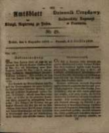 Amtsblatt der Königlichen Regierung zu Posen. 1829.12.08 Nro.49