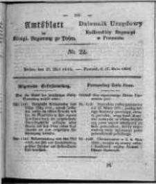 Amtsblatt der Königlichen Regierung zu Posen. 1828.05.27 Nro. 22