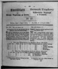 Amtsblatt der Königlichen Regierung zu Posen. 1828.07.01 Nro. 27