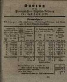 Amtsblatt der Königlichen Regierung zu Posen. 1838.01.09 Nro.2