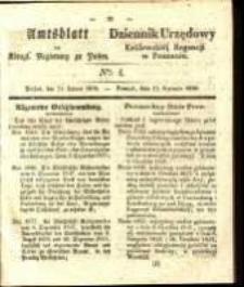 Amtsblatt der Königlichen Regierung zu Posen. 1838.01.23 Nro.4