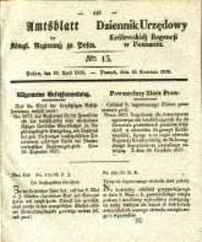Amtsblatt der Königlichen Regierung zu Posen. 1838.04.10 Nro.15