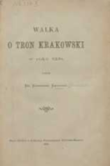 Walka o tron krakowski w roku 1228