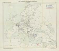 Die Operationen des Jahres 1915: die Ereignisse im Winter und Frühjahr: mit vierzig Karten und Skizzen Bd.7 Die Kriegsschauplätze der Mittelmächte im Frühjahr 1915 Karte 1