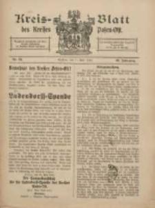 Kreis-Blatt des Kreises Posen-Ost 1918.06.01 Jg.30 Nr24