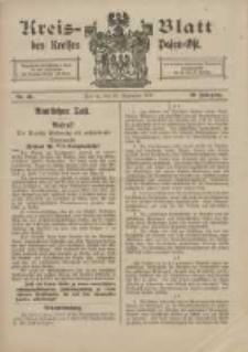 Kreis-Blatt des Kreises Posen-Ost 1917.09.22 Jg.29 Nr49