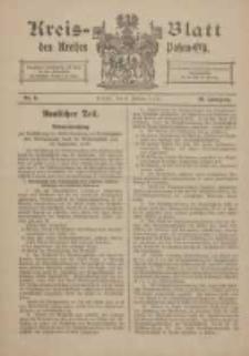 Kreis-Blatt des Kreises Posen-Ost 1918.02.09 Jg.30 Nr6