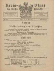 Kreis-Blatt des Kreises Posen-Ost 1918.05.25 Jg.30 Nr23