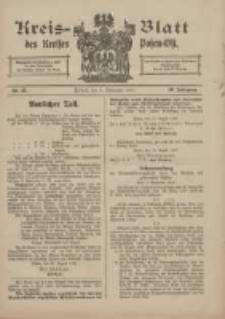Kreis-Blatt des Kreises Posen-Ost 1917.09.08 Jg.29 Nr47