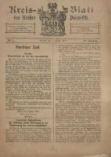 Kreis-Blatt des Kreises Posen-Ost 1918.01.05 Jg.30 Nr1