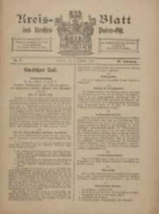 Kreis-Blatt des Kreises Posen-Ost 1918.02.02 Jg.30 Nr5