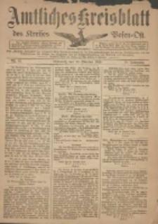 Kreis-Blatt des Kreises Posen-Ost 1918.10.29 Jg.30 Nr64