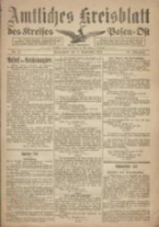 Kreis-Blatt des Kreises Posen-Ost 1918.11.09 Jg.30 Nr67