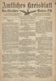 Kreis-Blatt des Kreises Posen-Ost 1918.11.16 Jg.30 Nr69