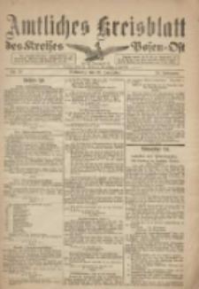 Kreis-Blatt des Kreises Posen-Ost 1918.11.20 Jg.30 Nr70