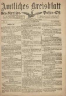 Kreis-Blatt des Kreises Posen-Ost 1918.11.30 Jg.30 Nr73