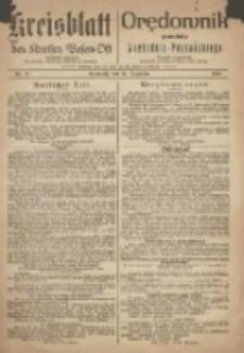 Kreis-Blatt des Kreises Posen-Ost. Orędownik powiatu wschodnio-poznańskiego 1918.12.18 Jg.30 Nr78